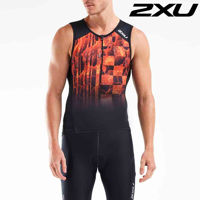 2XU 남성 철인3종 경기복 투피스 Men's Perform Tri Set MT5530a, MT5532b BLK SDW