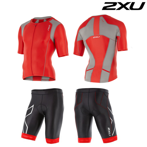 2XU(투엑스유)철인3종 경기복 Man's Compression Sleeved Tri Set-MT4439a(FSC_FRG)