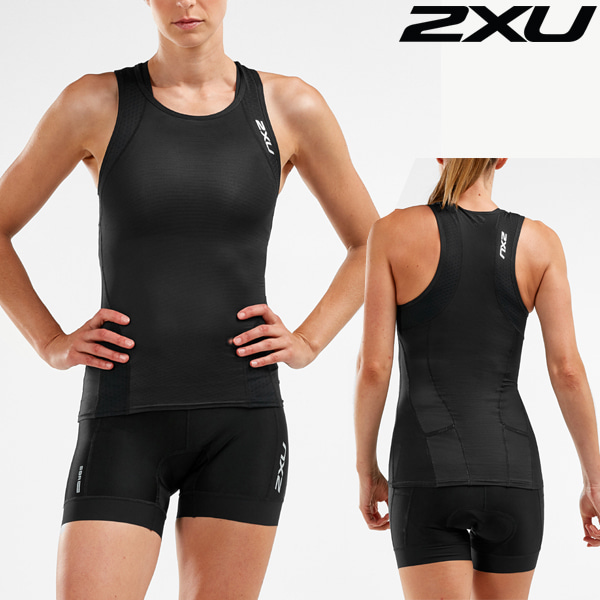 2XU 철인3종 경기복 Women's Perform Tri set WT5536a/WT5537b-BLK